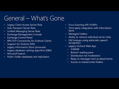 TechEd New Zealand 2013 Microsoft Exchange Server 2013 Tips & Tricks