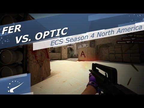 fer vs. OpTic - ECS Season 4 North America