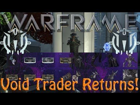 Warframe - Void Traders Returned! 113th Rotation thumbnail