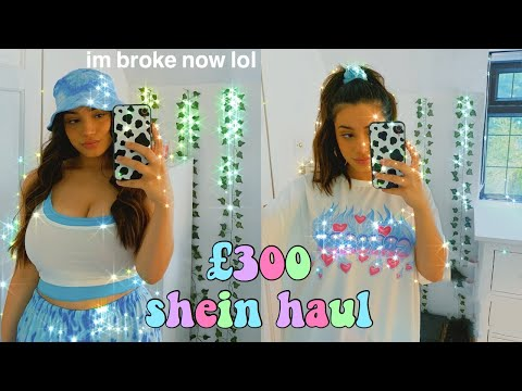 £300+ SHEIN TRY ON CLOTHING HAUL