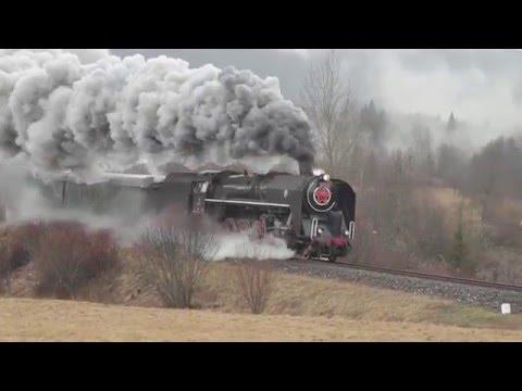 Parní lokomotivy na Slovensku 2016 část 1./Steam locomotives in Slovakia in 2016 part 1.