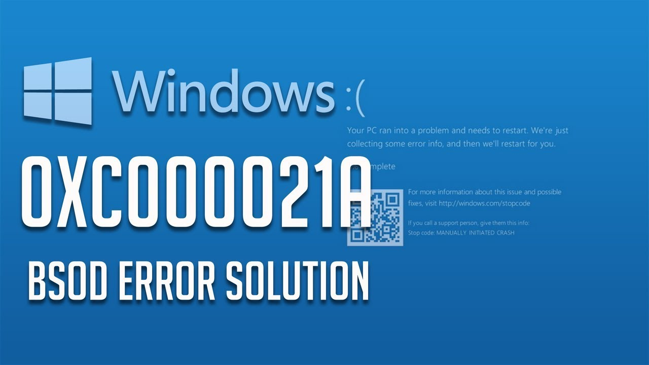 how to repair 0xc000021a bsod error in windows 10 8 7 5 solutions rh youtube com Manual for Toshiba Laptop Satellite P305D S8819 Toshiba Satellite A665 Disassembly Guide