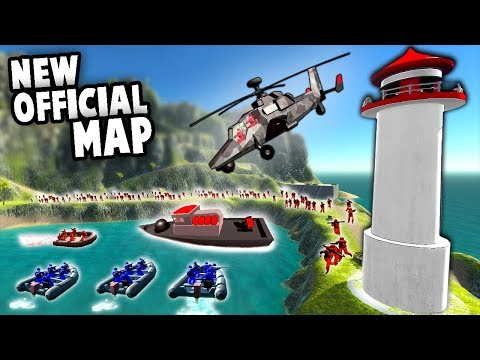 NEW Coastline Official Map!  NAVY SEAL Tactics! (Ravenfield New Update Gameplay)