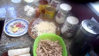 Shredded Pork Enchiladas, Quick And Easy By Jus4sweetz