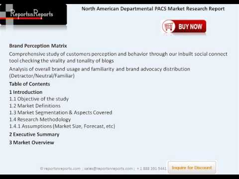 Departmental PACS Industry in North America bound to reach $1734 million by 2018
