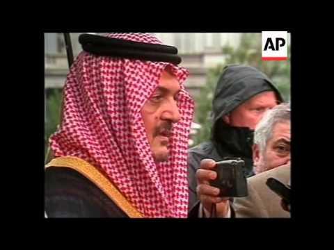 WRAP: Saudi FM meets with Bush, EU ministers arrive