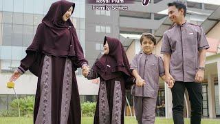 Simpel, Cantik Dan Kekinian, Sarimbit Keluarga Terbaru Alwa Hijab