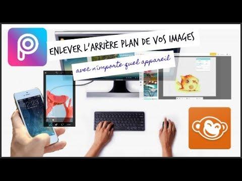 Tuto 15 Retirer L Arriere Plan De Vos Images Avec Picsart Picmonkey