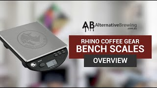 Rhino Bench Scales Overview