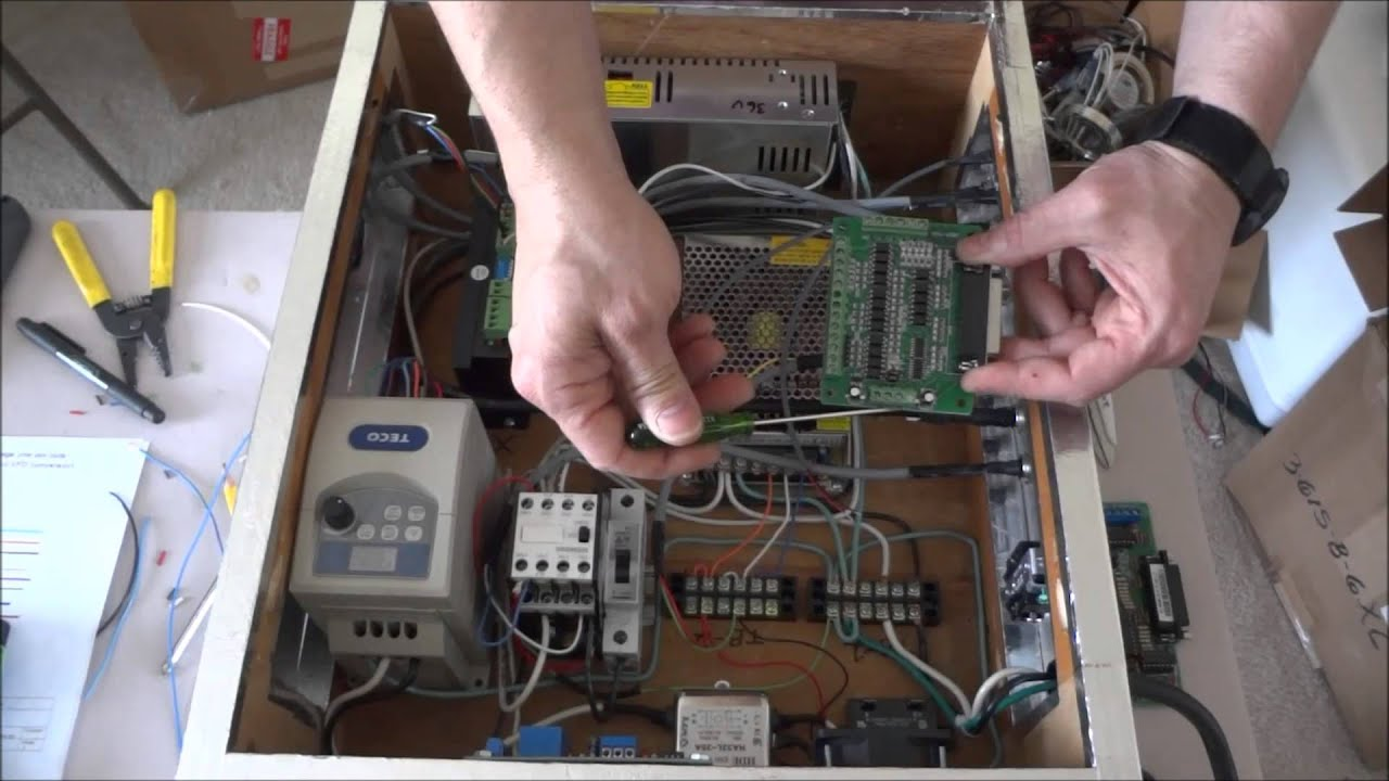 G0602 Project Part 8 Electronics Control wiring - YouTube