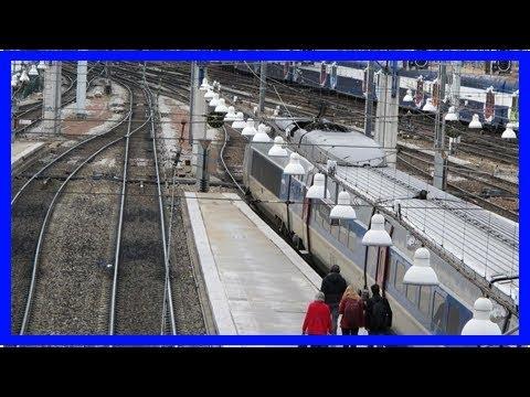 Paris : avis de marteaux-piqueurs à la gare Montparnasse !
