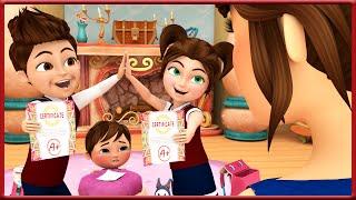 Good Grade + More Nursery Rhymes & Kids Songs - Banana Cartoons Original Songs [HD]