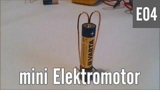 E04 - Kako napraviti Mini ELEKTROMOTOR