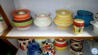 Kitchen organization ideas in tamil|Ceramic jars collections |Basic kitchen organizers