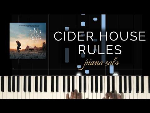 The Cider House Rules - Main Theme/Pure Michigan Theme (Piano Solo + Tutorial)