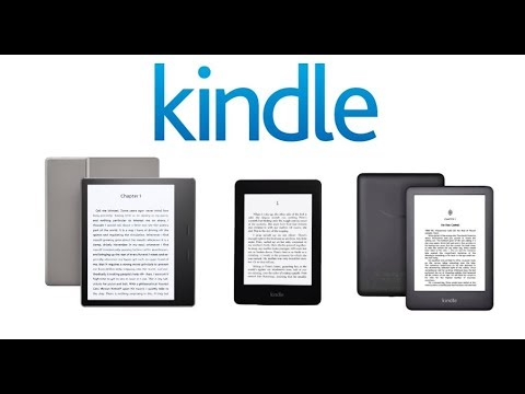 Amazon Kindle Lineup 2019 Comparison - Paperwhite vs Oasis vs Basic