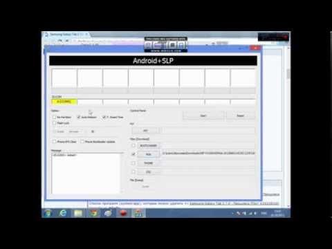 Как установить официальную прошивку на Samsung Galaxy Tab 2 7.0