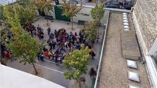 Collège Octave Gréard : projet d'aménagement de la cour Oasis