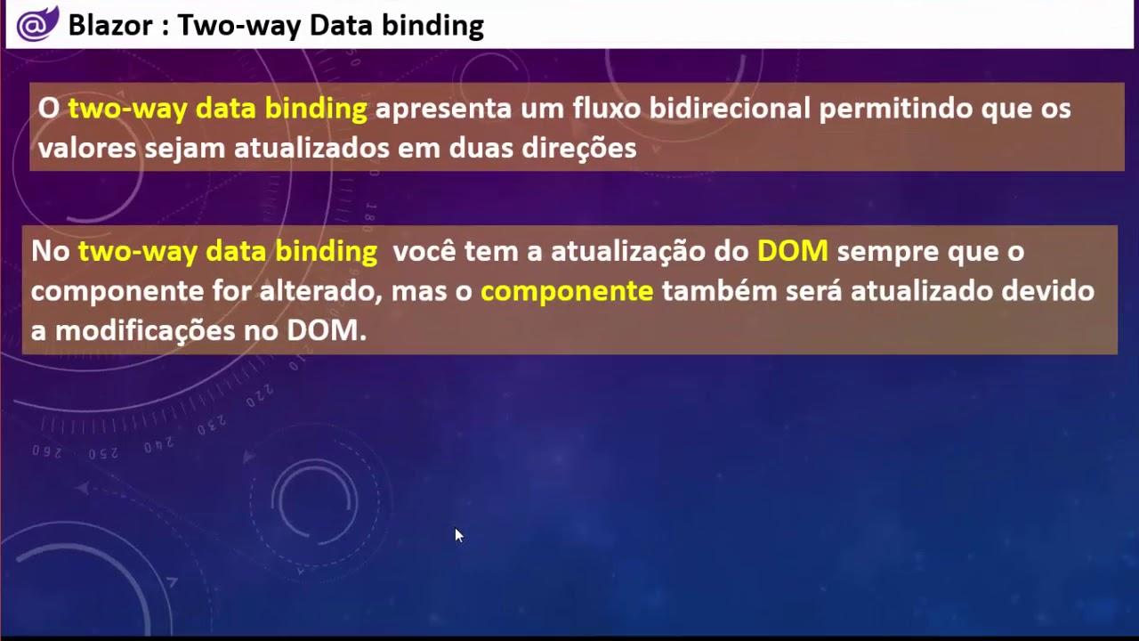 Download Curso Blazor Essencial - Apresentando o DataBinding