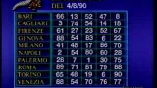 [TV 90] Estrazioni del Lotto
