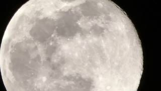 Panasonic FZ80/FZ82  full moon zoom test
