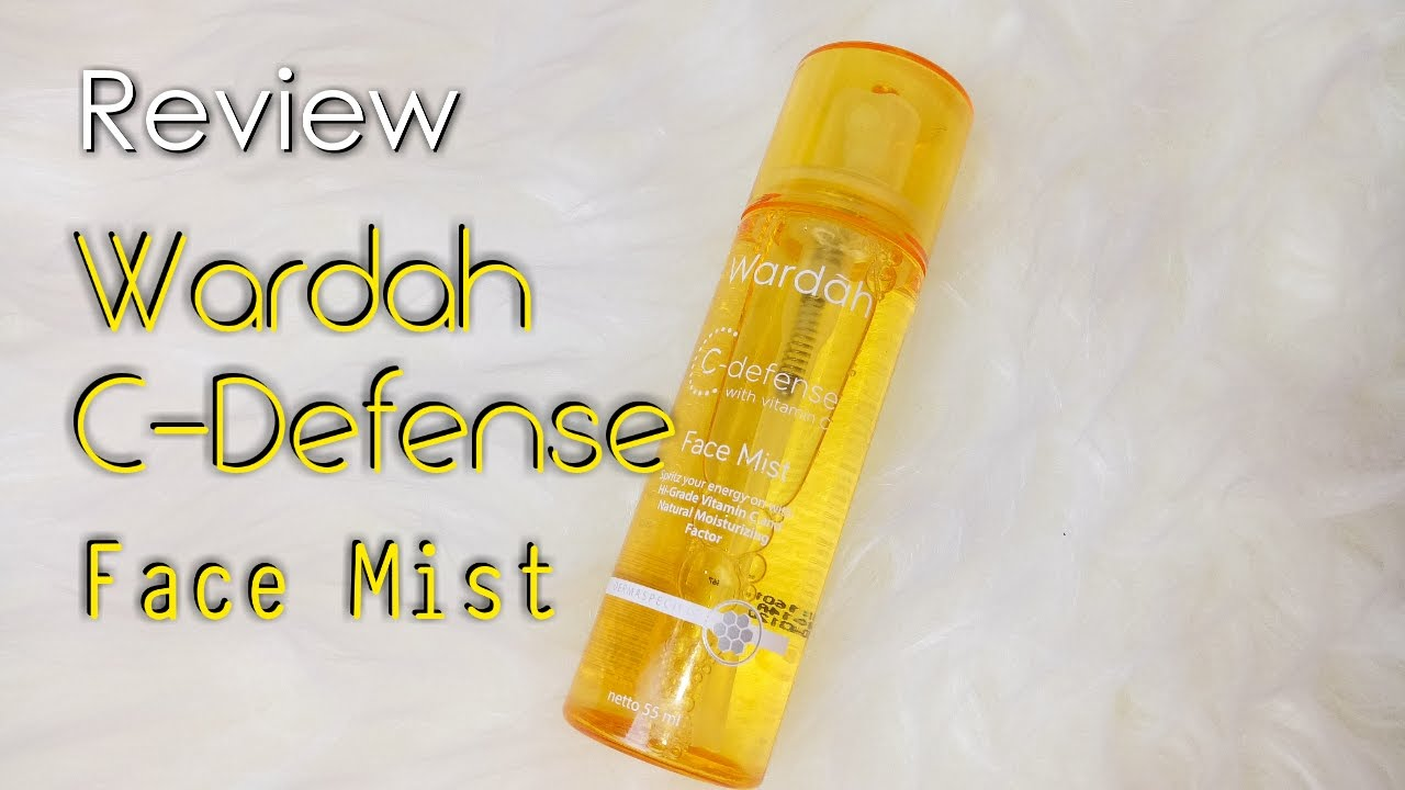 Wardah C Defense With Vitamin C Face Mist Review First
