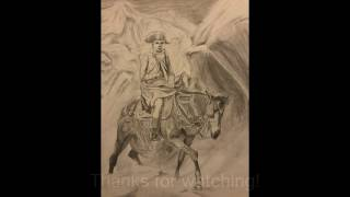 "How to Draw ""Bonaparte Crossing the Alps"" by Delaroche, Drawing by TC"