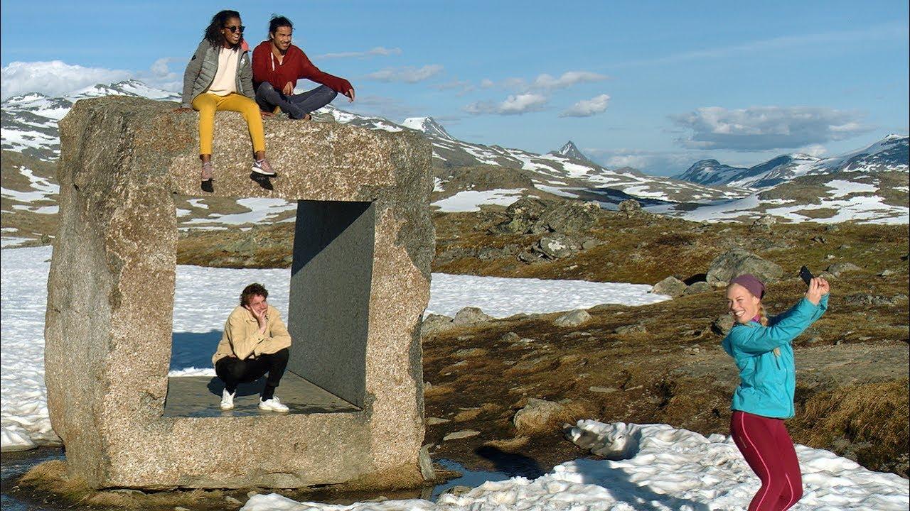 Opplev nasjonal turistveg Sognefjellet