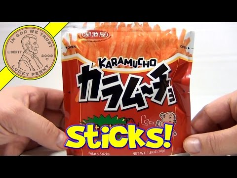 Karamucho Hot Chilli French Fries - Japanese Snack Food