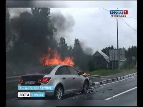 Есть пострадавшие в ДТП около Брин-Наволока