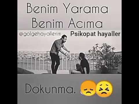 Benim yarama benim acıma DOKUNMA😠