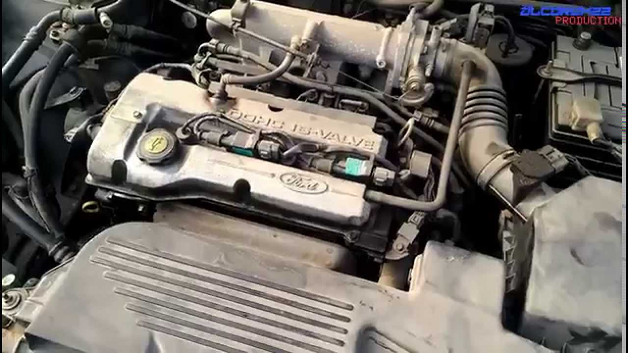ford mazda zl de engine view youtube