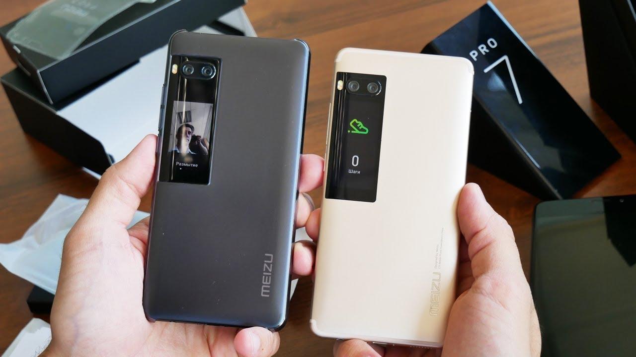 Топ-5 фишек смартфонов Meizu Pro 7 и Pro 7 Plus