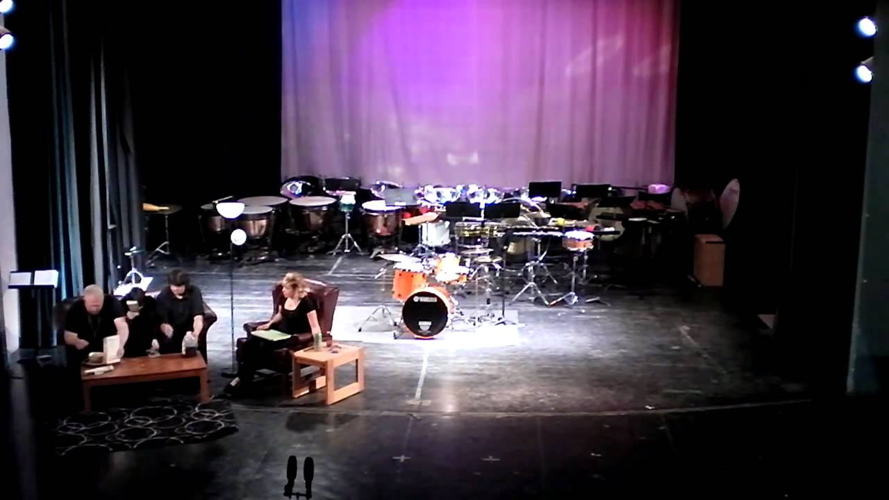 Living Room Music   To Begin, Story   John Cage   Adams State College  Percussion Ensemble   YouTube Part 42