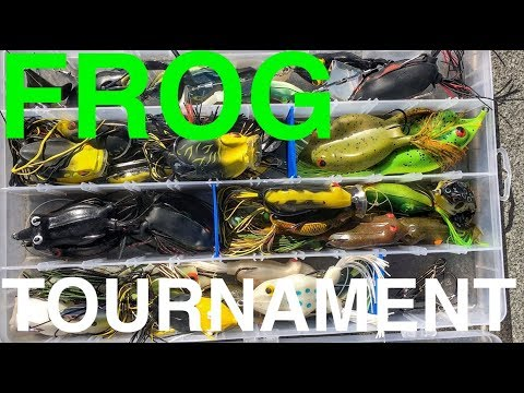 FROG LURE ONLY Fishing Tournament