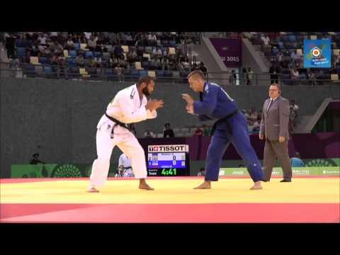 Ukraine vs Slovenia European judo teams championships - Baku 2015