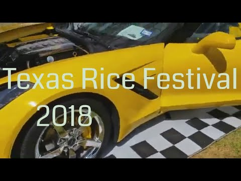 Texas Rice Festival Car Show (2018)