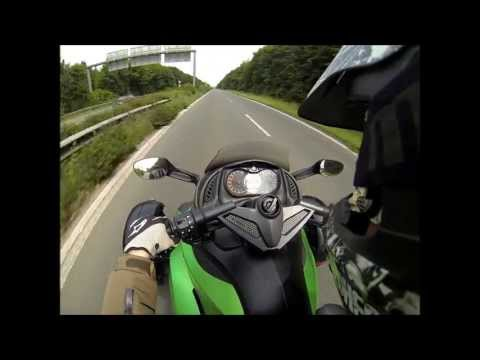 180km/h Top Speed Can Am Spyder RS with GoPro Hero 3 Black Edition