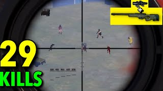AWM vs 8 ENEMIES in LAST GAME!!! | PUBG MOBILE