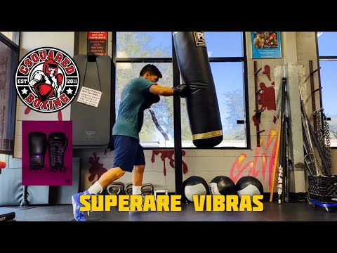 HEAVY BAG TRAINING- Superare Vibras Boxing Gloves