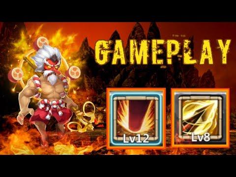 Storm Eater | Zealous Drive | Killer |  Maxed Level | LBF/Duengeon/HBM/HT | GamePlay | Castle Clash