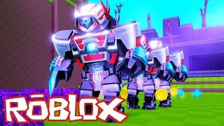 I'm building to survive robots! Roblox Build and Survive