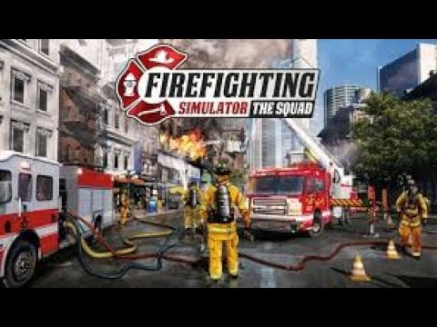 FIREFIGHTING SIMULATOR THE SQUAD  EP 1 INDUSTRIAL MAZE ABLAZE |