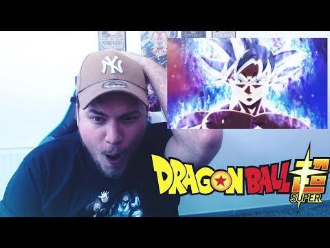 GOKU MIGATE NO GOKUI MAITRISE MAGNIFIQUE INCROYABLE - VIDEO RÉACTION DRAGON BALL SUPER 129
