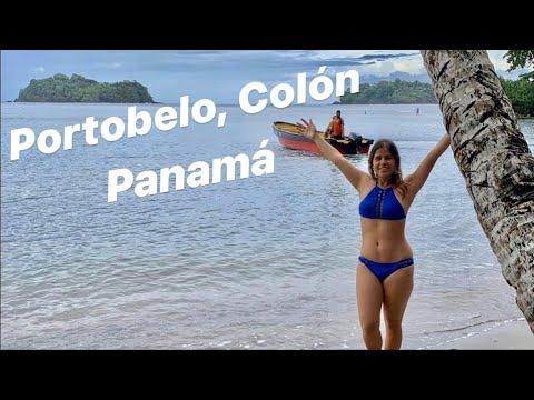Portobelo, Colón: Playa Blanca, Venas azules, Isla Mamey y Fuerte de Santiago en Panamá