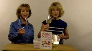 The Saucy Sisters Talk about Wine Legs