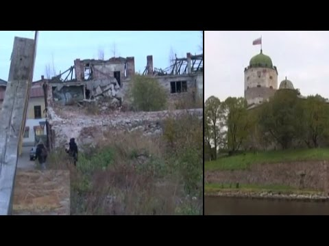 Vyborg: The crumbling historical city of Russia