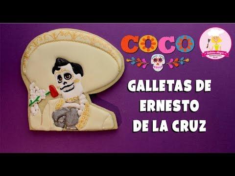 Galletas De Coco Ernesto De La Cruz Día De Muertos