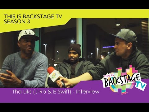 Tha Liks (J-Ro & E-Swift) - Wywiad / Interview. This is backstage TV (S03.06)