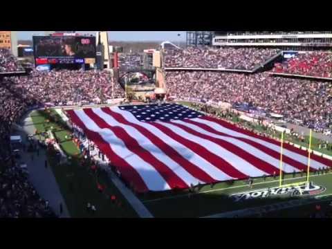 e99fcbac5 New England Patriots honor Veterans Day at Gillette Sadium - Foxborough (  11-11-2012 )